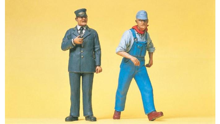 personnel du chemin de fer américain
