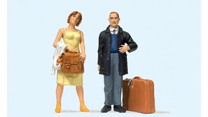 couple de voyageurs