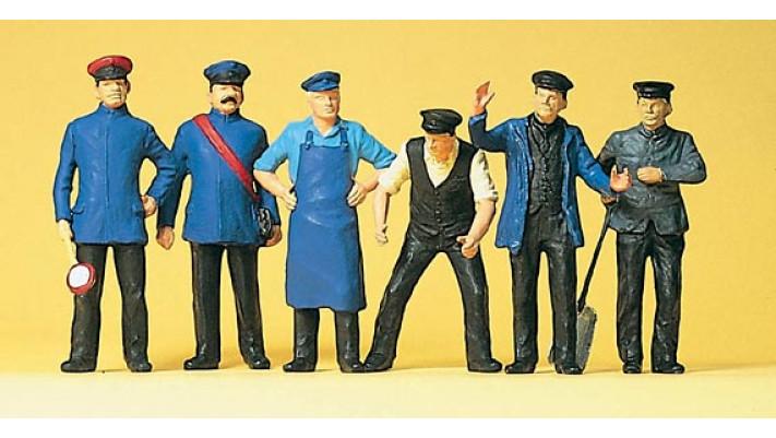 personnel de chemin de fer