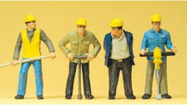ouvriers de voie