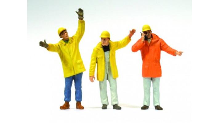 personnel de chantier