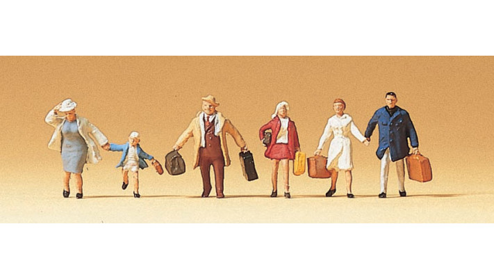 famille krause en voyage