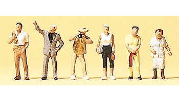 ouvriers en excursions