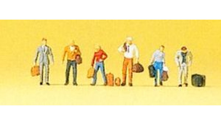 passagers marchants