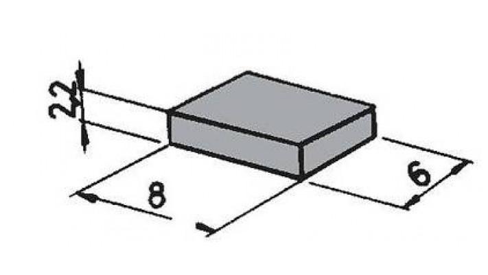 6 Stück Packung Magnete