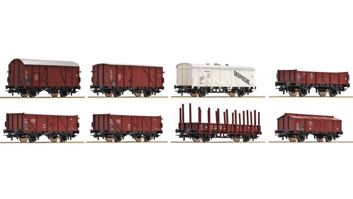 Güterwagenset DB 8 St.