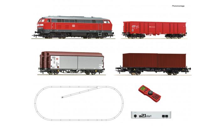 z21 Set Diesellok BR 218 + GZ
