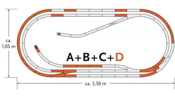 Complément rail de Coffret de départ : D