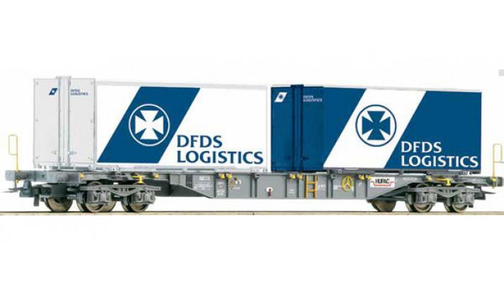 WAGON PORTE CONT.DFDS DSB