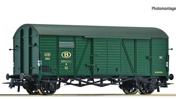 Ged. Güterwagen 2a. grün