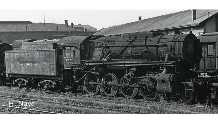 Dampflokomotive S 160 US. ZON