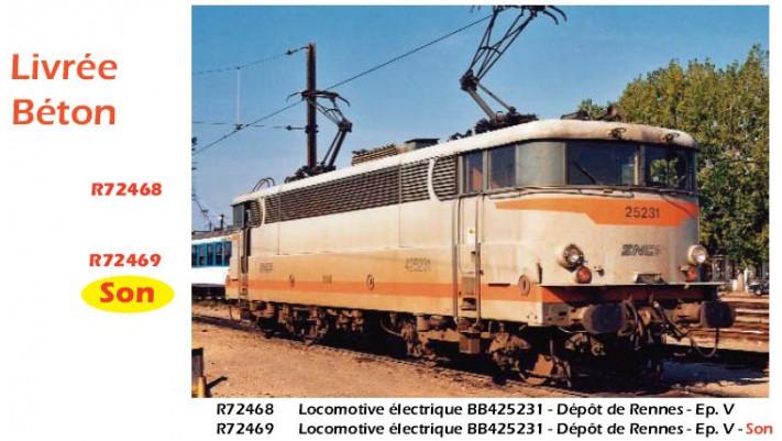 LOCO.E.BB25200 BETON SNCF