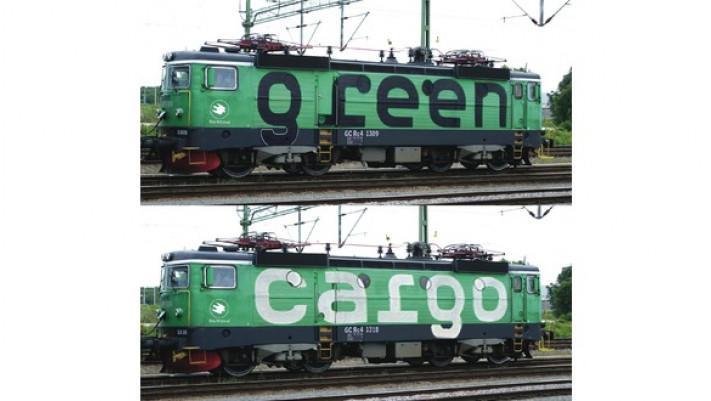 Set: 2x E-Lok Rc4 SND. Green C