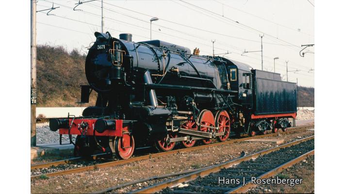 Dampflok Gruppo 736 mit Kohle,