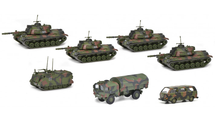 Schuco set de panzer
