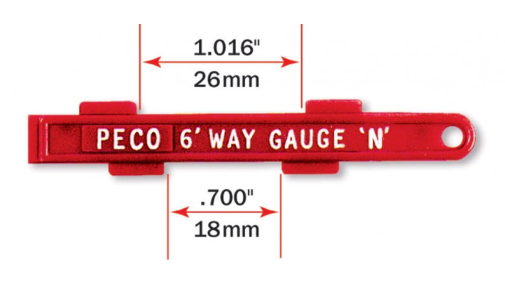 6ft-way Gauge (also gauges platform