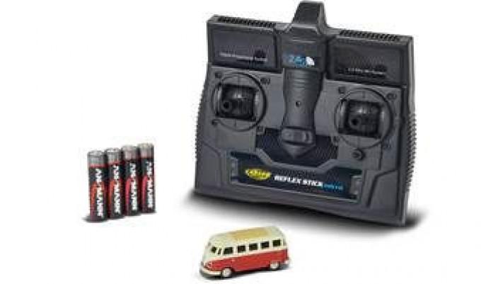 SAMBA VW ROUGE RADIO COMMANDE