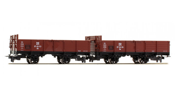 2 wagons ouverts