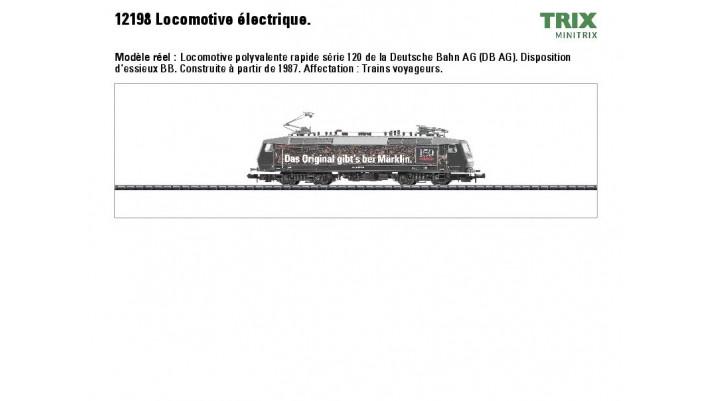 E-Lok BR 120 M?klin DB AG