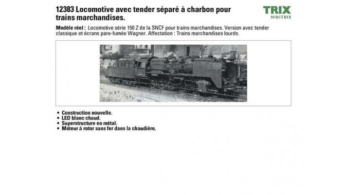 Dampflokomotive 150 Z SNCF