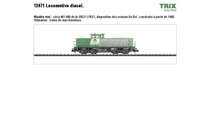 Diesellok Serie 461 SNCF