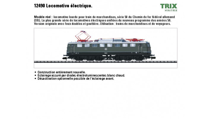 Elektrolokomotive BR E 50 DB