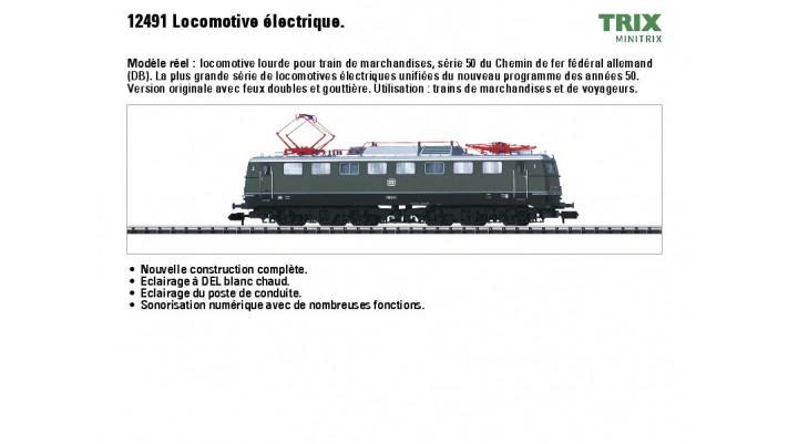 Elektrolokomotive BR 150 DB A