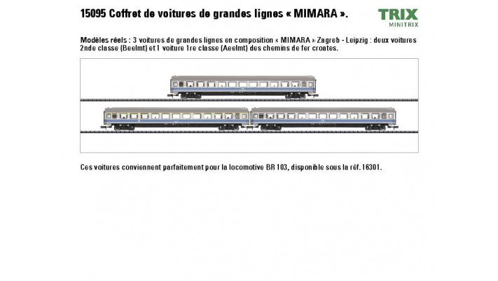 Wagen-Set EC MIMARA