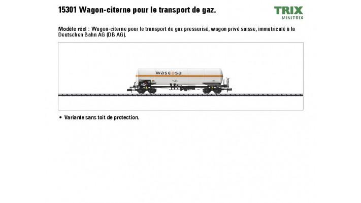 Gaskesselwagen Wascosa