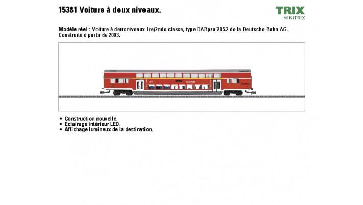 Dopelstockwagen DB Regio