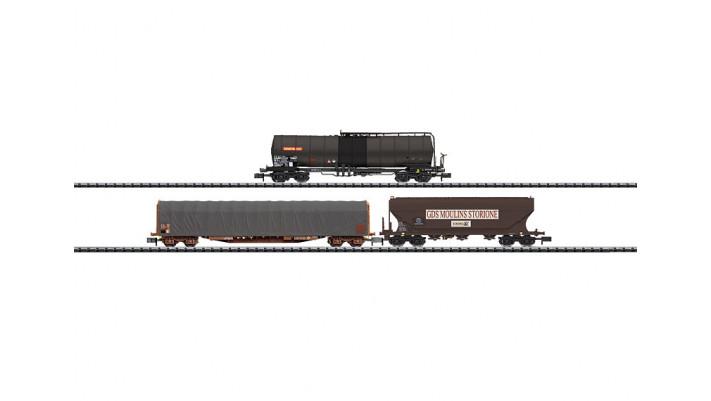 Güterwagen-Set Frankreich