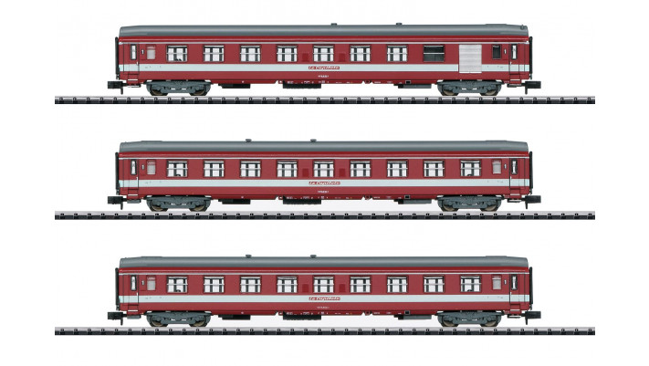 SET 3xVOITURES AVEC FOURGON SNCF CAPITOLE
