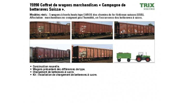Wagen-Set R?enkampagne SBB