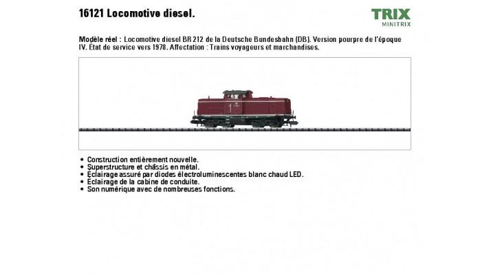 Diesellok BR 212 DB
