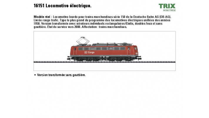 E-Lok BR 150 DB