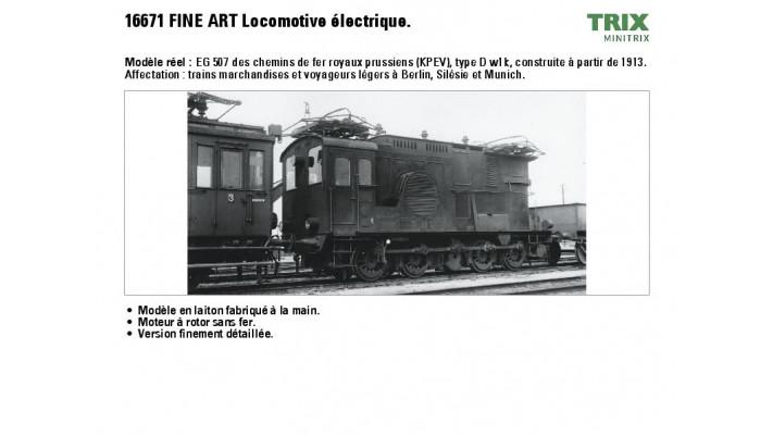 E-Lok EG 507 KPEV