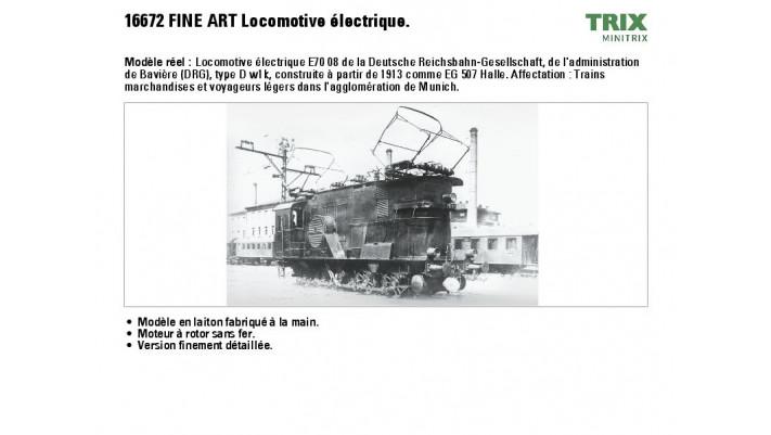 E-Lok E 70 08 DRG