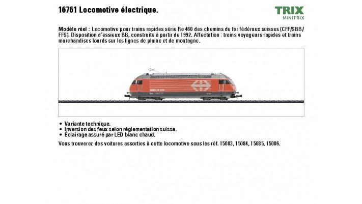 E-Lok Serie Re 460 SBB