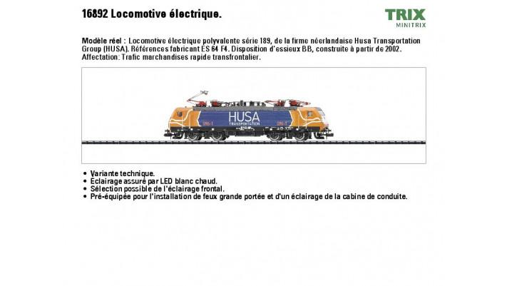 E-Lok BR 189 HUSA