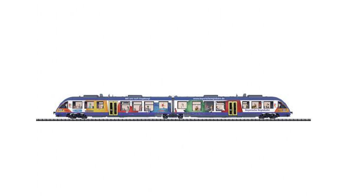 Dieseltriebwagen BR 648.2 BRB