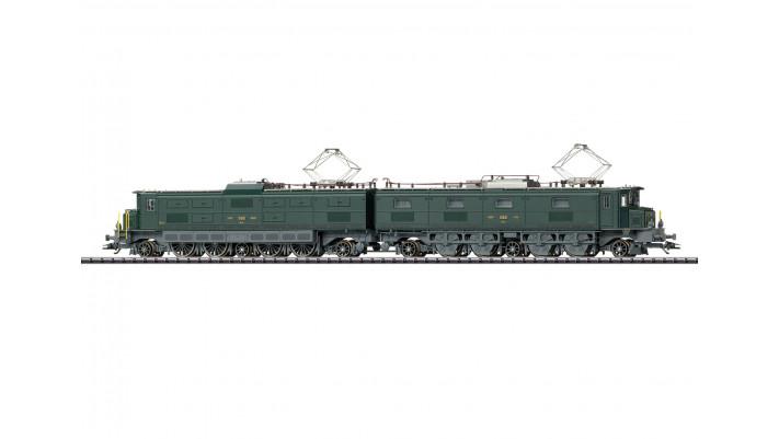 Double locomotive électrique série Ae 8/14 -  SBB/CFF/FFS  -  époque :
