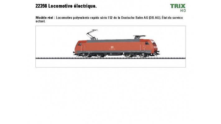 E-Lok Br 152 DB AG