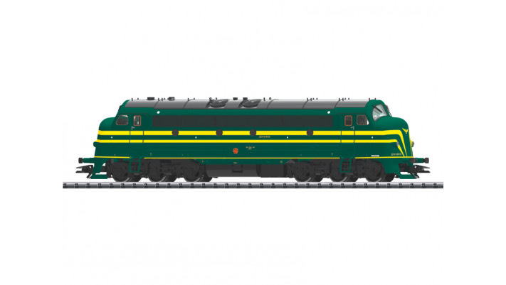 Diesellok NOHAB 204 SNCB