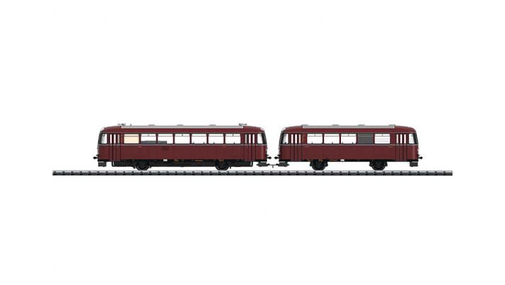 Schienenbus VT 95.9+VB 142 DB