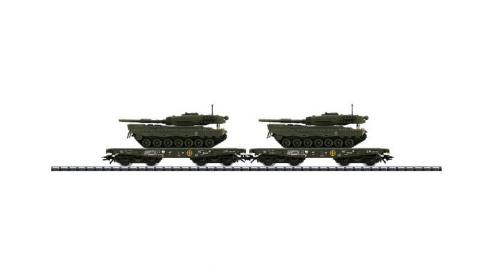 Schwerlastwagen-Set m.Panzern