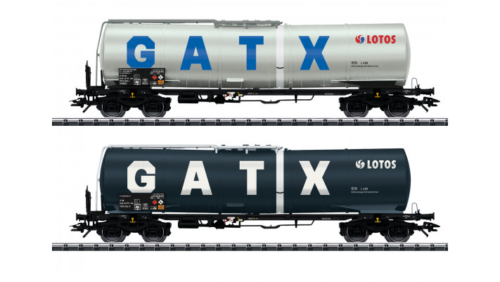 Kesselwagen Zans Lotos/GATX