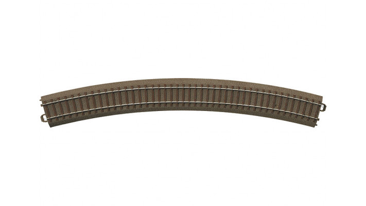 Rail courbe  r643,6 mm,30 Gr.