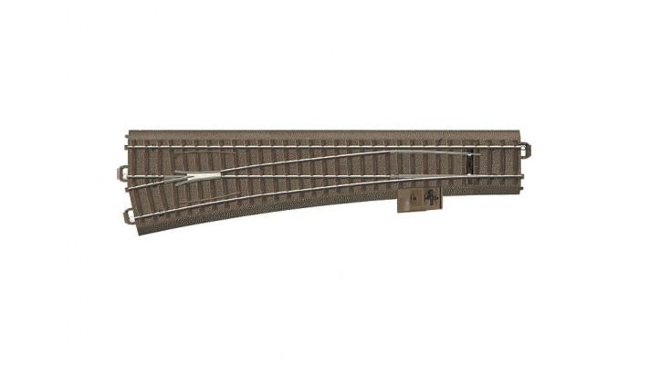 Aiguillage élancé gauche r1114,6 mm