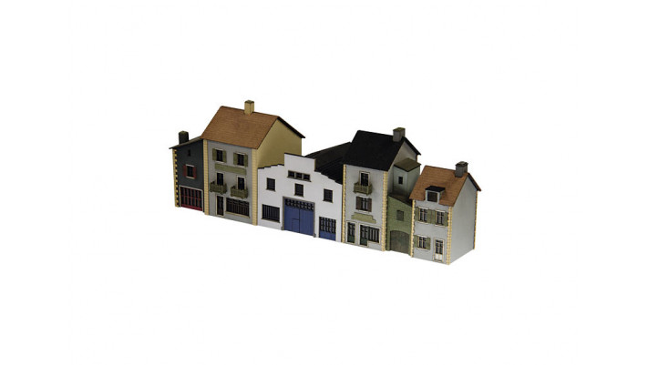 Bausatz Französische Häuserze