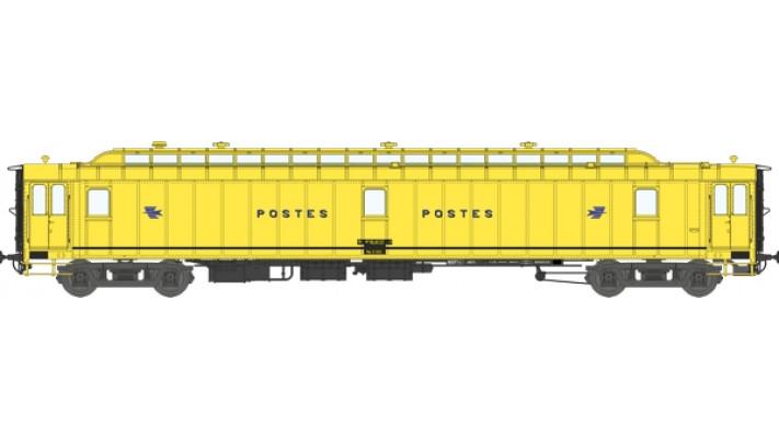 Voit. POSTALE OCEM Ambulant 21,6 m Ep.IV - PAZ  jaune intermédiaire, B